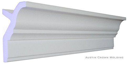 Amazon Com 64 Ft Of 3 5 Angelo Foam Crown Molding Room Kit W Precut Corners On End Of Lengths 4 Inside 1 O Foam Crown Molding Diy Wainscoting Crown Molding