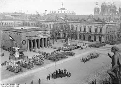 neue wache helden gesenk feier 1935