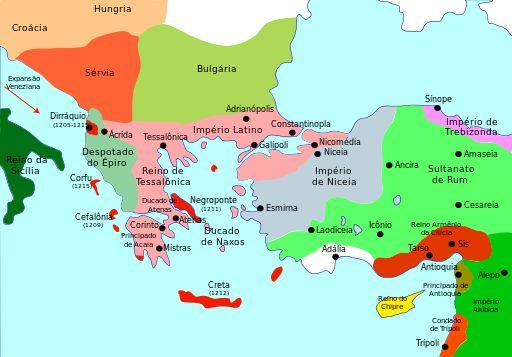 Byzantium1204-pt - Tessália – Wikipédia, a enciclopédia livre
