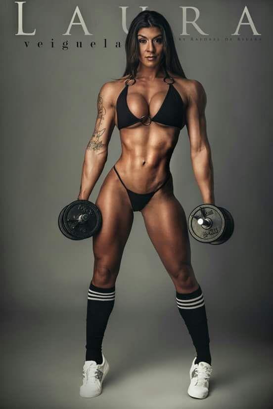 Sexy Teenage Female Body Building Vedio 58