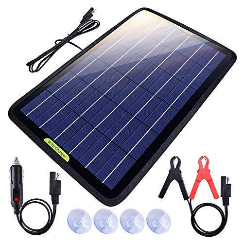 Top 10 Solar Battery Chargers For 2020 In 2020 Solar Battery Solar Battery Charger Solar Panel Charger