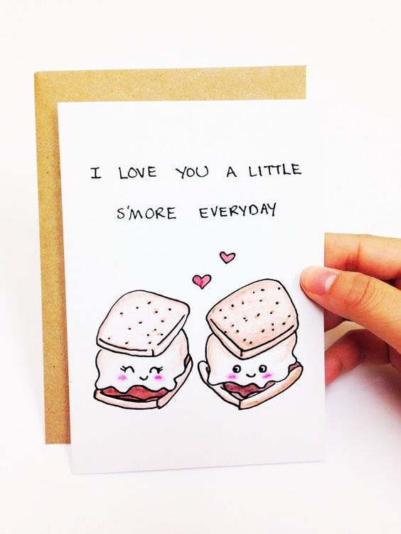 23 Valentineu0027s Day Cards to Express Your Love in a Quirky Way - print anniversary card