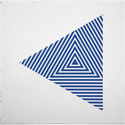 #yearofpattern zebra triangle