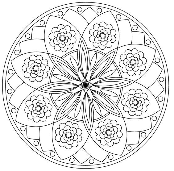 Religious mandala coloring pages on pinterest ~ Coloring, Cute coloring pages and Mandalas on Pinterest