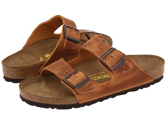 birkenstock arizona antique brown