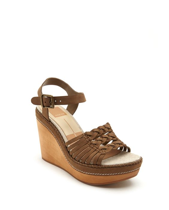 Dolce Vita wedge. Love style. OLIVE