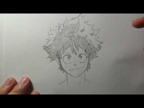 How To Draw Deku Like A Boss Art Reference Poses Drawings Easy Drawings