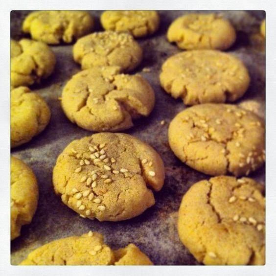 עוגיות טחינה בריאות | Amami