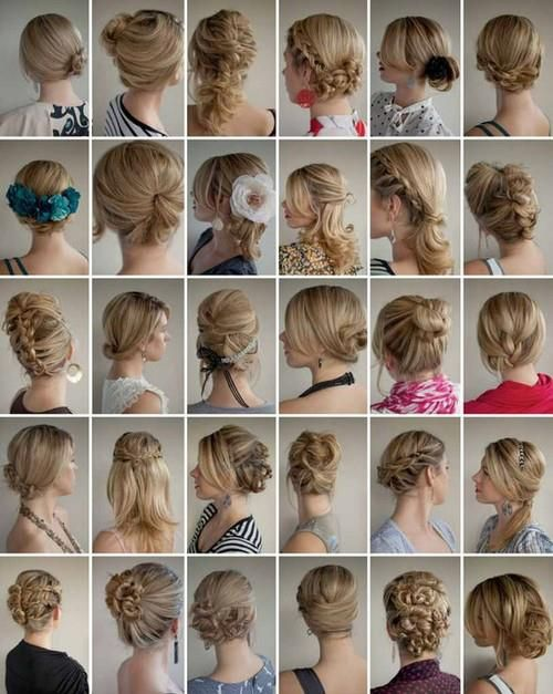 Surprising Hairstyle Ideas Coiffures And Long Hair On Pinterest Short Hairstyles Gunalazisus