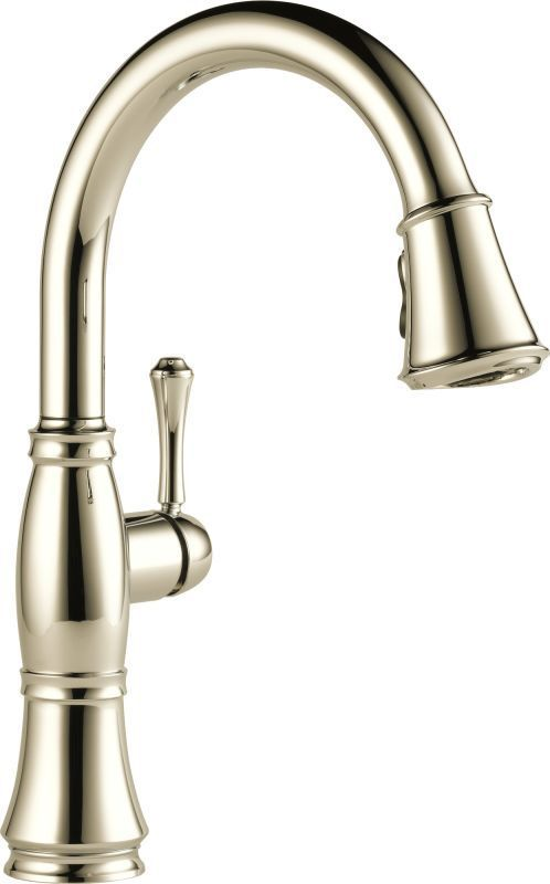 Delta 9197 Dst Cassidy Pull Down Kitchen Faucet With Magnetic Docking Spray Head Polished Nickel Faucet Kitchen Sin Kitchen Faucet Bronze Kitchen Faucet Faucet Delta brushed nickel kitchen faucet