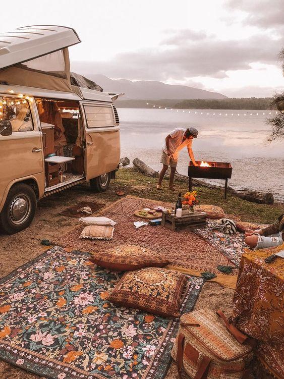 Van life picnic's with Wandering Folk
