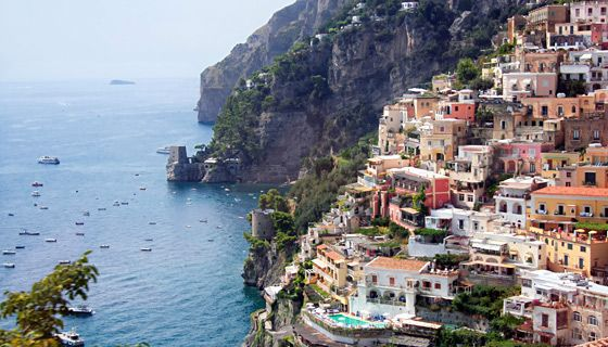 Walking tour of Amalfi Coast in southern Italy . . . I'd love to go back and do this!