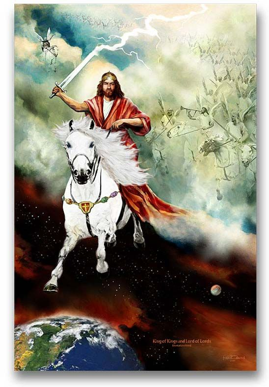 Jesus's return on a white horse | JESUS: In contrast, Jesus Christ Himself is coming on a white horse to ...: