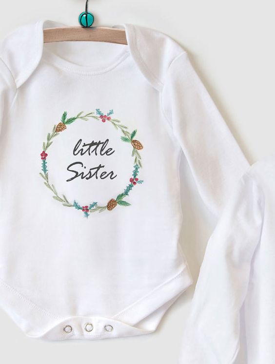 The most adorable Christmas gift set featuring a soft cotton top for a Big…