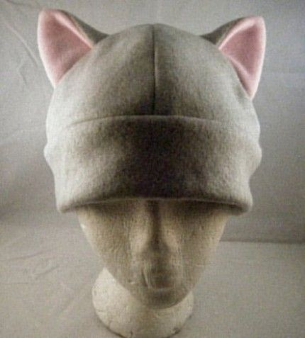 Instead of wearing a cat ear headband, I'd like to try some kind of hat. Something like this would be perfect! I may actually end up buying one from this etsy site. I think I can swing $15!