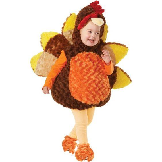 Baby Tiny Turkey Costume