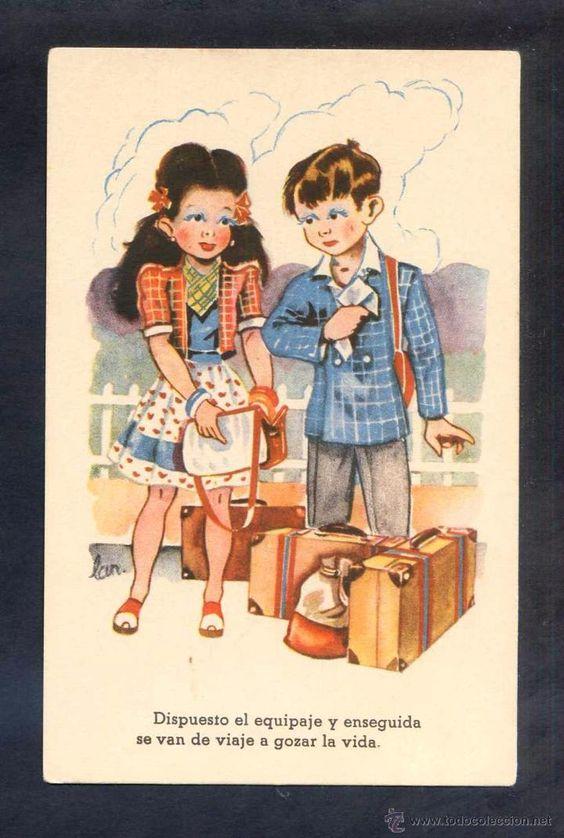Postales: Ilustrador *Lan* Ed. CMB. Serie nº 80. Lote serie completa 10 postales. Nuevas. - Foto 3 - 4250417