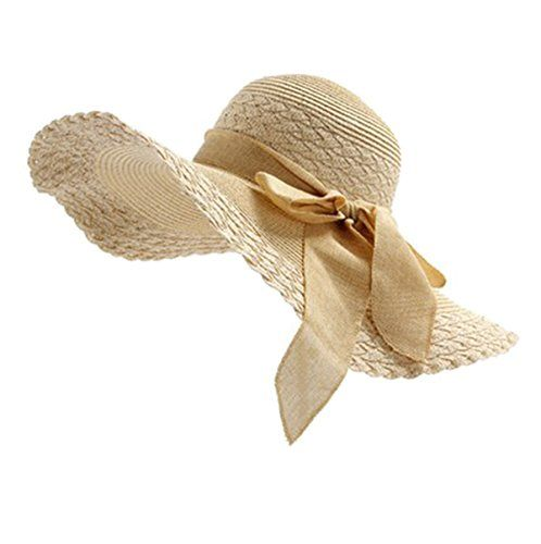 LIANGSM Women's Summer Sun Hats Crocheted Bohemia Straw Hat with Big Brim (beige) LIANGSM http://www.amazon.com/dp/B01DIK2L7S/ref=cm_sw_r_pi_dp_I2J-wb18P6ZG2