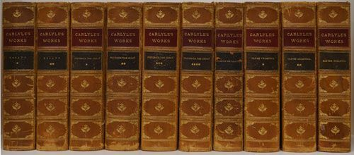 Carlyle S Works 10 Volumes By Thomas Carlyle On Good Books In The Woods Good Books It Works Antiquarian Books