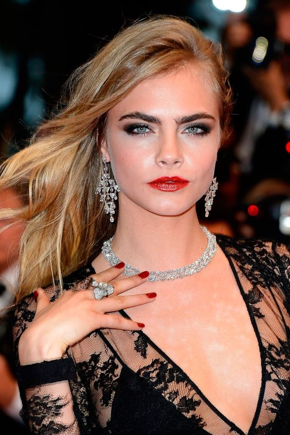 Cara Delevingne at the Premiere of The Great Gatsby