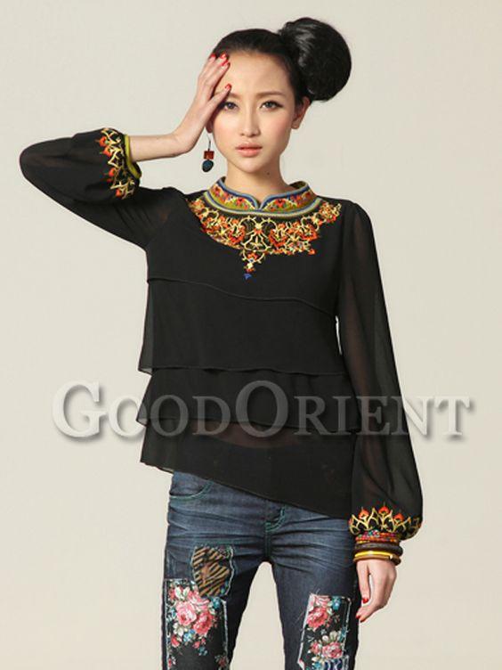 Unique ethnic minority chinese clothing: