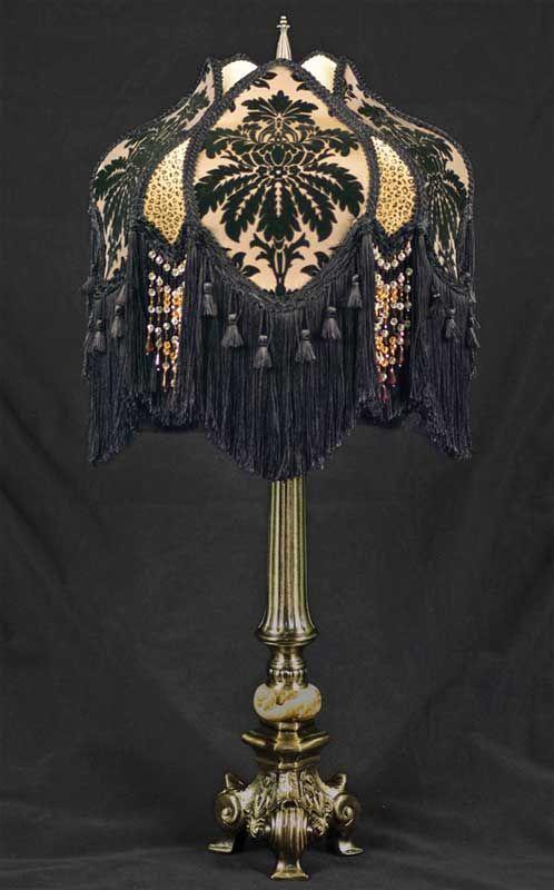 Dark Antique Table Lamp Id Lights Antique Table Lamps Victorian Lamps Victorian Lampshades