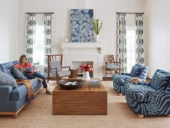 This comfy hangout room makes for a more relaxing space than a formal living room #hgtvmagazine http://www.hgtv.com/decorating-basics/full-house-a-favorite-room-for-everyone/pictures/page-3.html?-soc=pinterest
