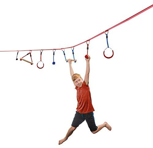 b4Adventure NinjaLine Intro Kit with Seven Hanging Obstac... https://www.amazon.com/dp/B01F6CP4NE/ref=cm_sw_r_pi_dp_x_lmFlybZQVWB4D:
