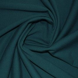 Petrol Double Knit Jersey Fabric | Jersey Fabrics | Calico Laine