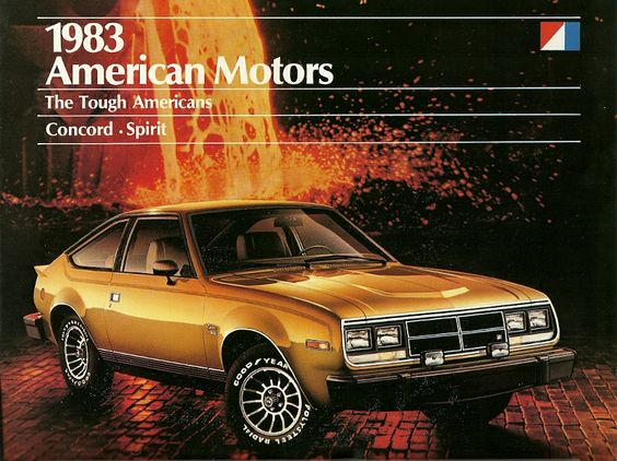1983 AMC Spirit  GT.  4.2L Inline-6 Rated @ 110 HP.