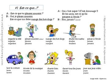 verb exercises french tense by regli re free printable worksheets ...