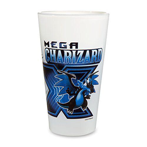 Mega Charizard X Glass Tumbler