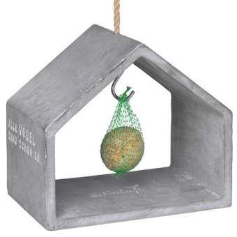 """Freiluft. Futterhaus. """"Vogelfutterhaus aus Beton"""""""