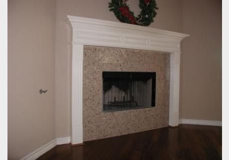 Glass Tile For Fireplace Are Glass Tiles Heat Proof For Fireplaces Fireplaces Pinterest