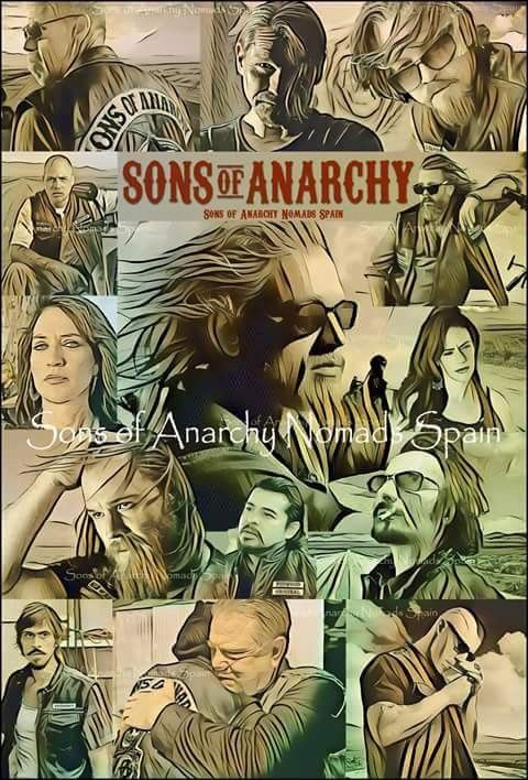 Sons of Anarchy Characters Amercican Tv Series Poster Various Sizes
