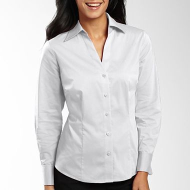 for Womens tall button down shirts