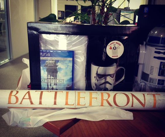 ... & just like that productivity at the BtT office grinds to a halt #starwars #battlefront #ps4 #game