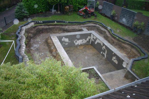 Referenzen Schwimmteich Hinterhof Pool Landschaftsbau Hinterhof Pool