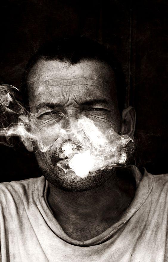 The last smoke by Rocker Sanjog