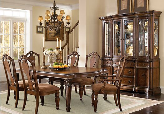 Shop For A Granby 5 Pc Double Pedestal Diningroom At Rooms To Go Find Dining Room Sets That Will Look Great In Your Home And Complement The Rest O