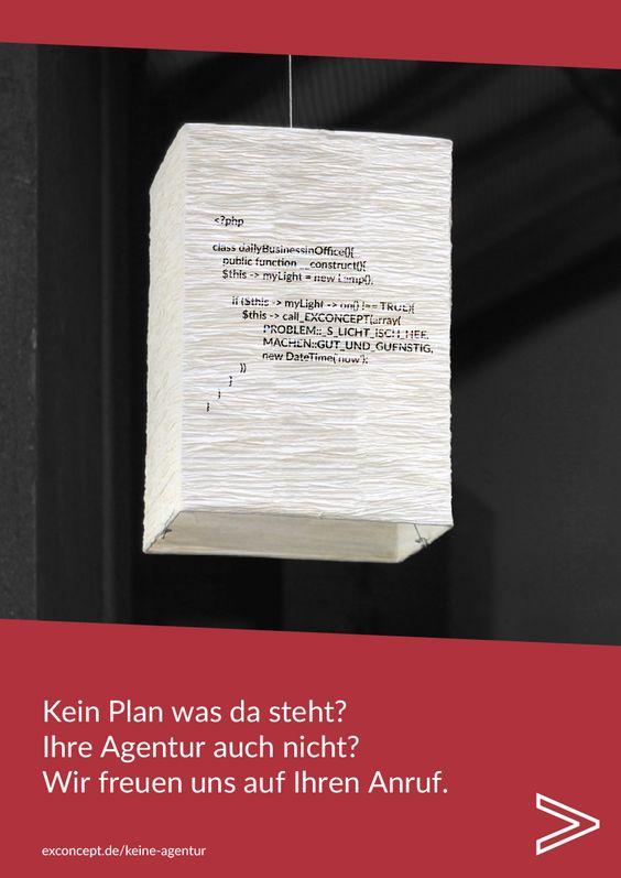 Kein Plan was da steht? Ihre Agentur auch nicht? Wir freuen uns auf Ihren Anruf! http://www.exconcept.de/keine-agentur/ #reklamemithumor #fachchinesisch #keineagentur #technikprobleme #websupport #ecommerce #cms #web #support #dienstleister #supportdienstleister #webtechnologies #germany #stuttgart #exconcept