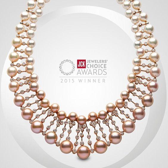 @yoko_london has been awarded a #JCKJewelersChoiceAward. The magnificent winning…