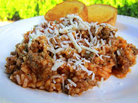 Spaghetti Rice | Italian sausages, Sauces and Italian spices