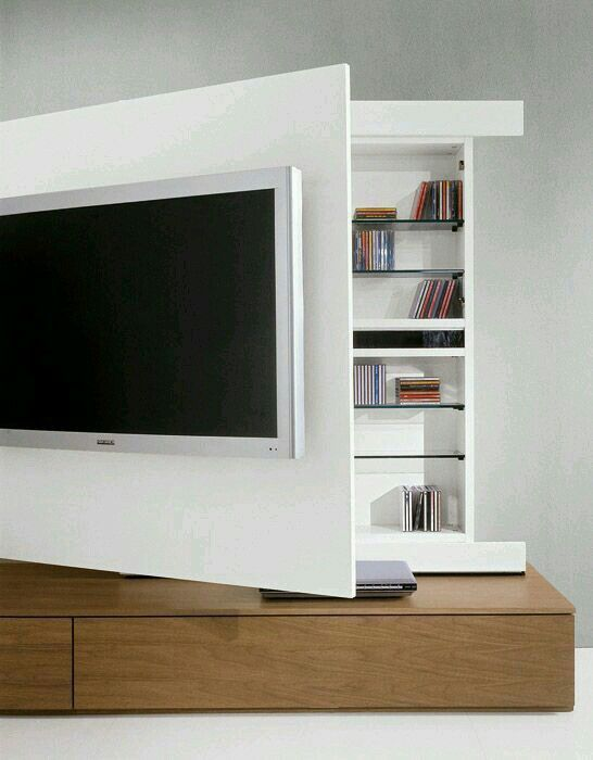 Tv Wand Design tiny living tiny living