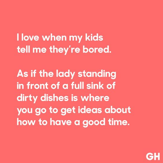 Bored Kids - GoodHousekeeping.com