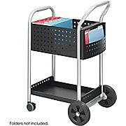 Shop Staples® for Safco® 5238 Mail Cart, 20''W, Black Steel. Enjoy everyday low prices and get everything you need for a home office or business.