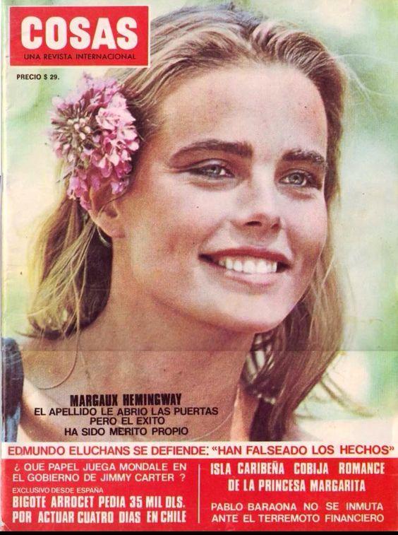Margaux Hemingway covers Cosas Magazine: