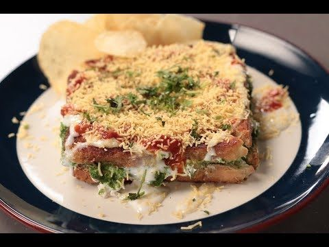 Dahi Toast Sanjeev Kapoor Khazana Youtube Best Breakfast Recipes Breakfast Ingredients Recipes