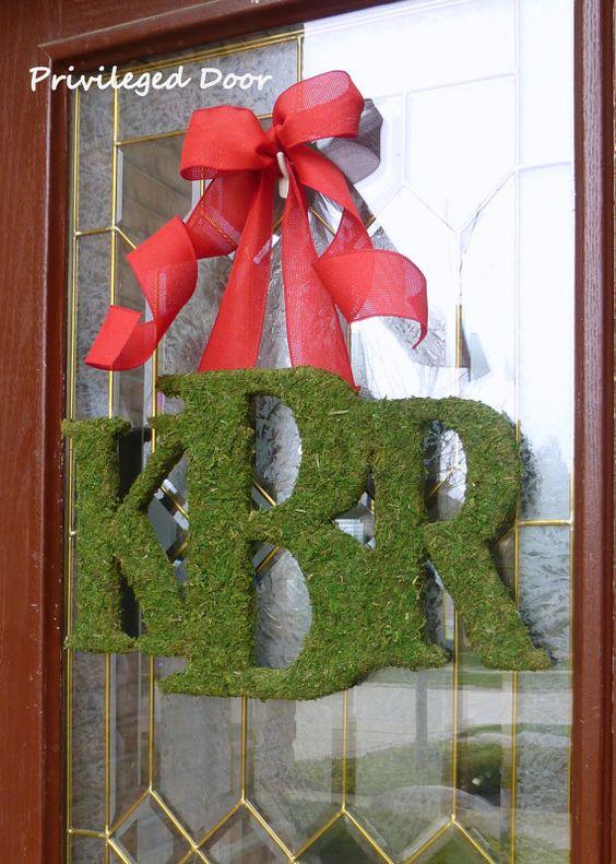 welcome christmas wreath on - photo #38