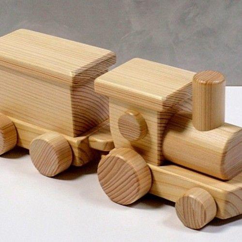 木のおもちゃ 連結機関車c 木のおもちゃ おもちゃ 集成材